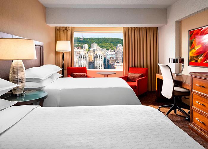 Centre Sheraton Hotel Montreal Canada Hab Doble