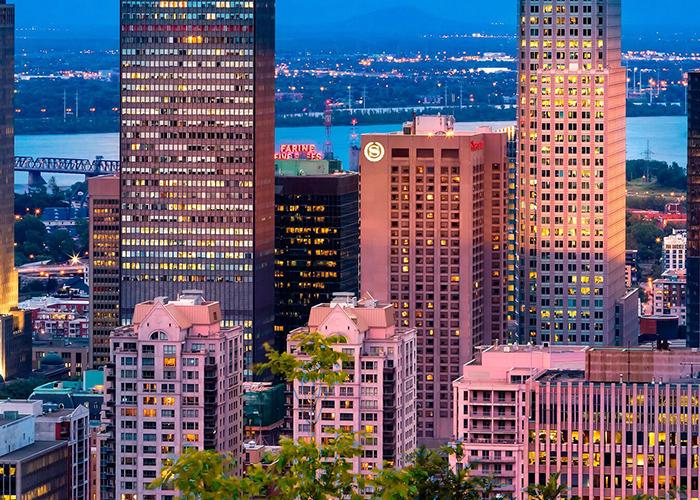 Centre Sheraton Hotel Montreal Canada Vista