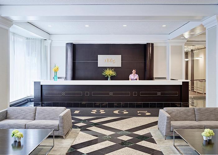 Chelsea Hotel Toronto Canada Lobby