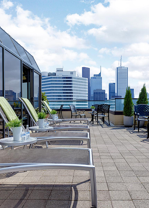 Chelsea Hotel Toronto Canada Terraza