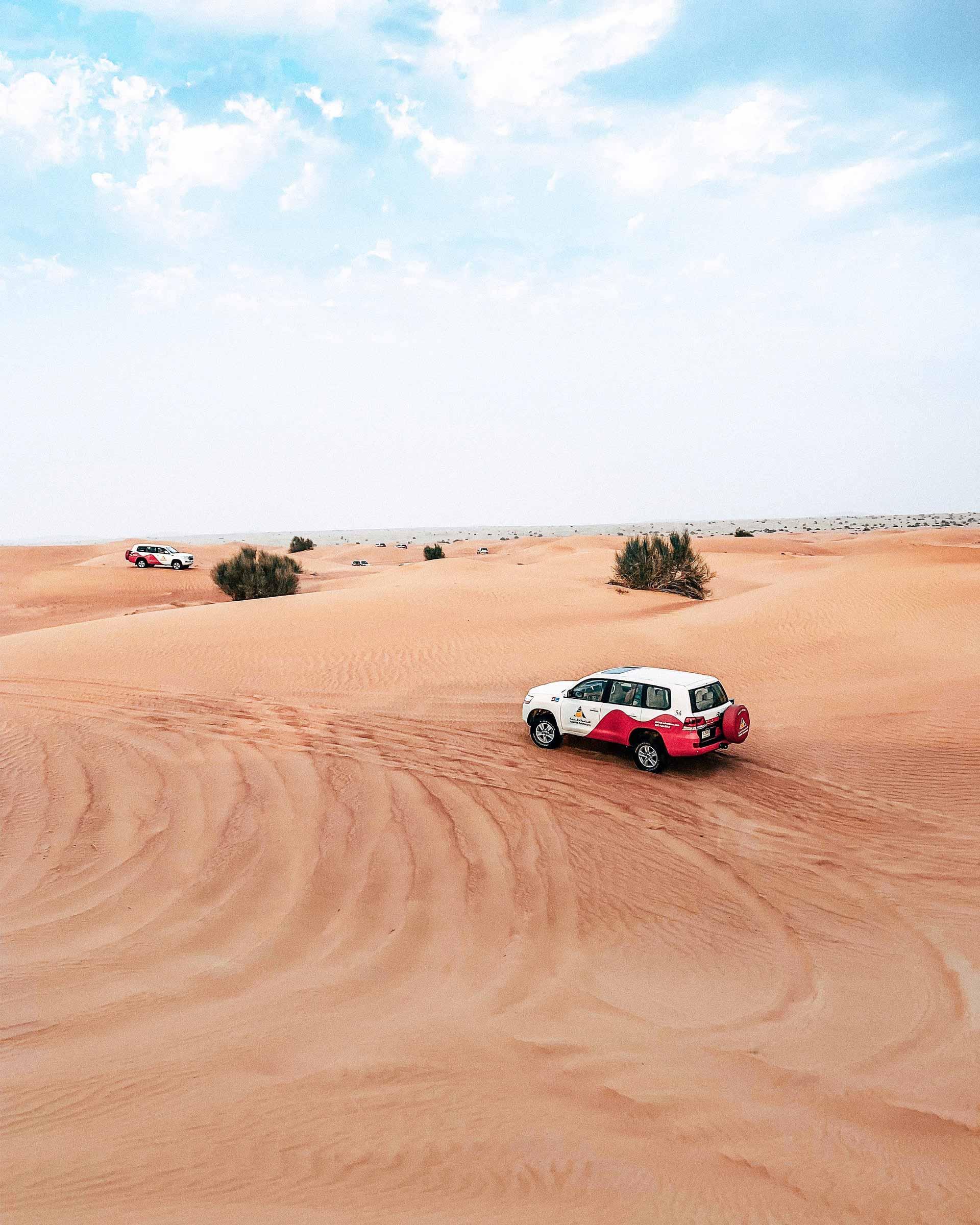 Experiencia Desert Safari 4x4 Dubai