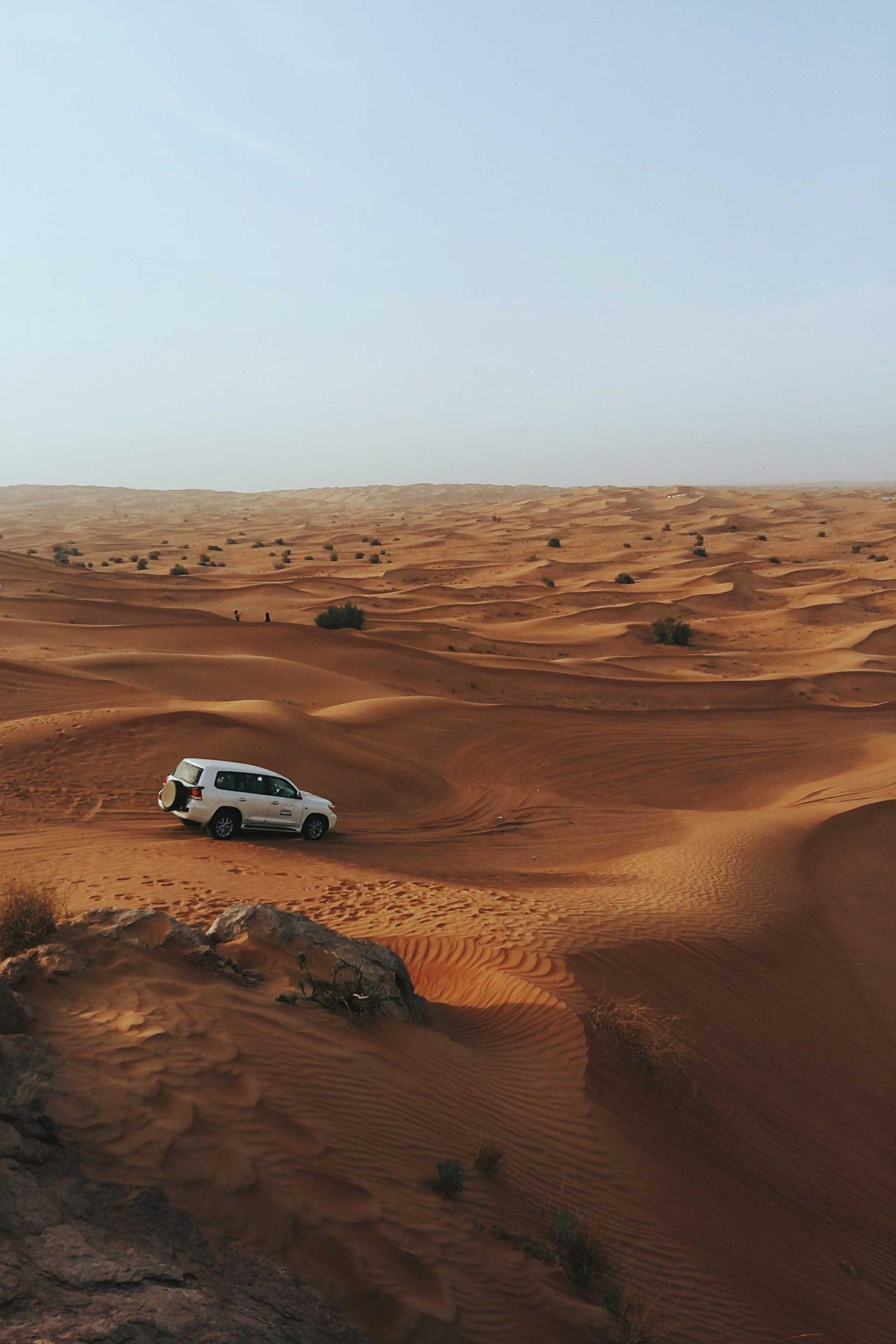 Experiencia Desert Safari 4x4 en Dubai