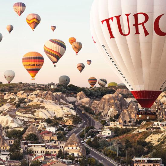 Globos de Capadoccia Turquia
