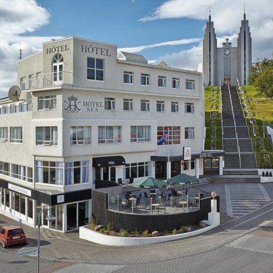 Hotel KEA Akureyri Fachada Islandia