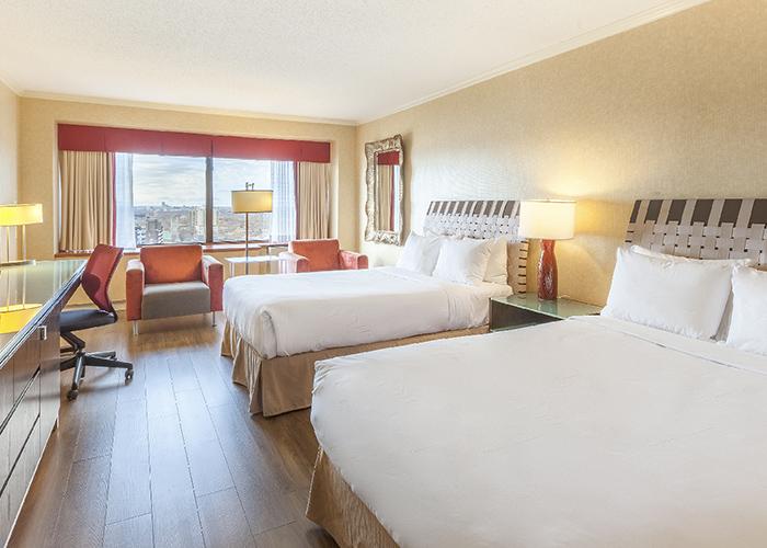 Hotel Loews Le Concorde Quebec Canada Hab Doble