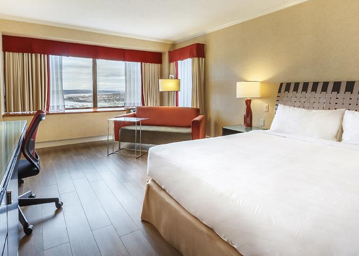 Hotel Loews Le Concorde Quebec Canada Hab Sencilla