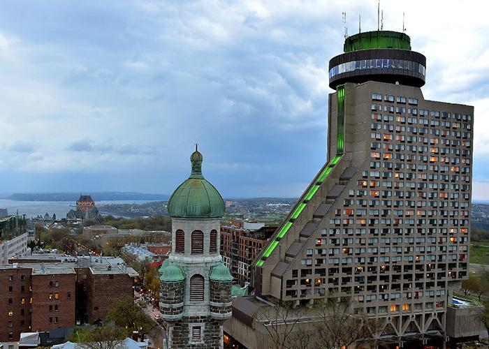 Hotel Loews Le Concorde Quebec Canada Vista