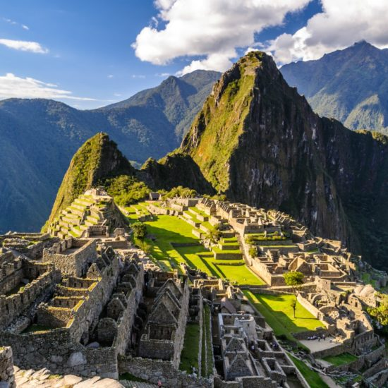 Atardecer en Machu Picchu