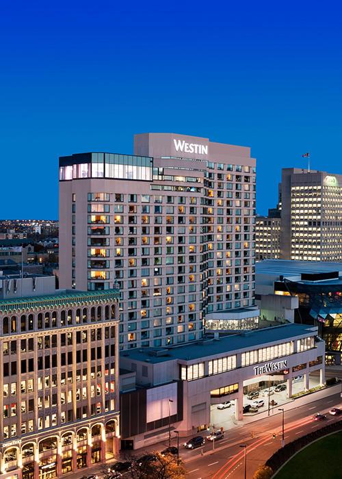 The Westin Ottawa Canada Vista exterior