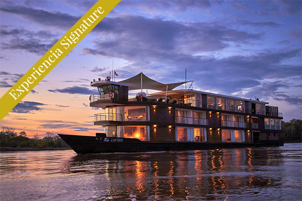 Crucero el zafiro por el Amazonas Peru Iquitos