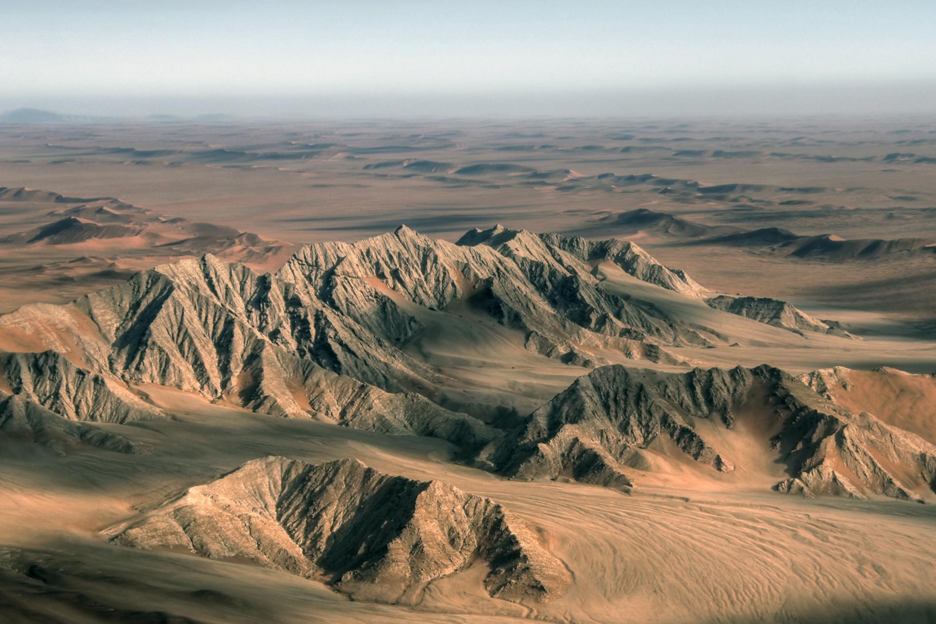 Montañas de Namibia