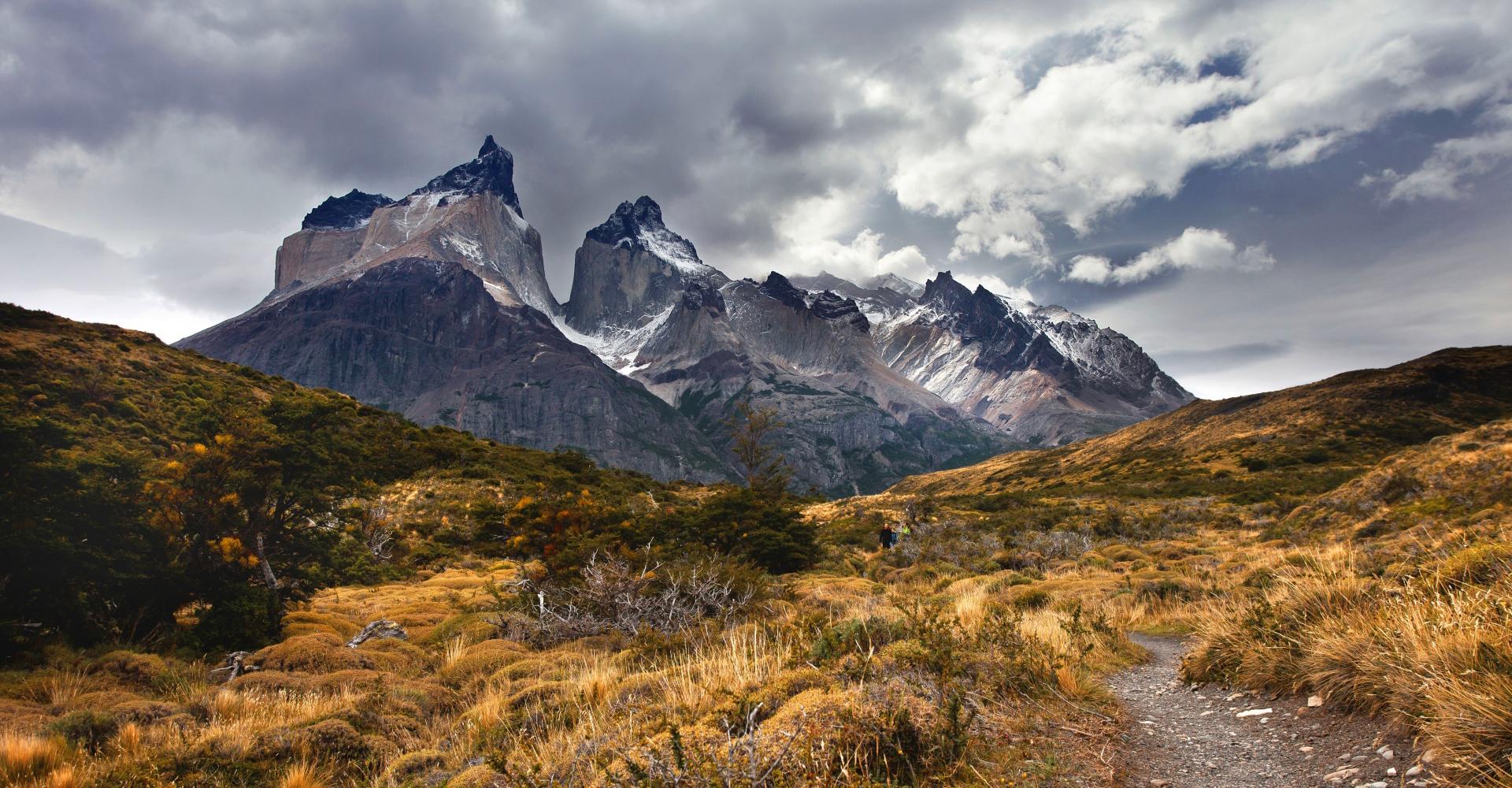 Cuernos de torres del paine En Chile