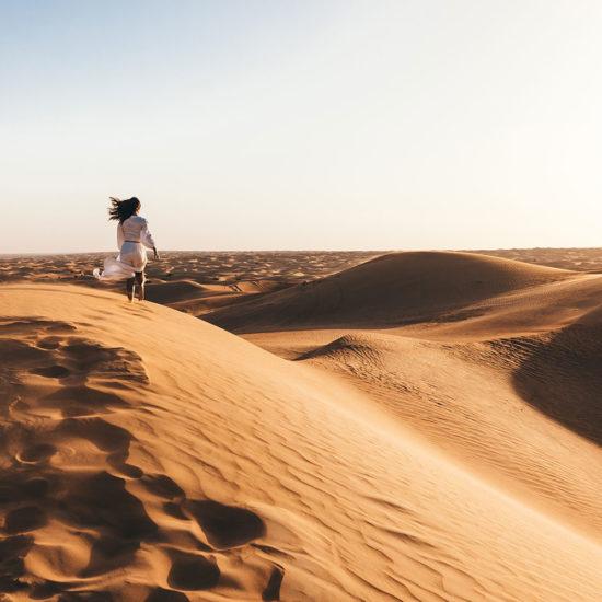 Desierto en Dubái