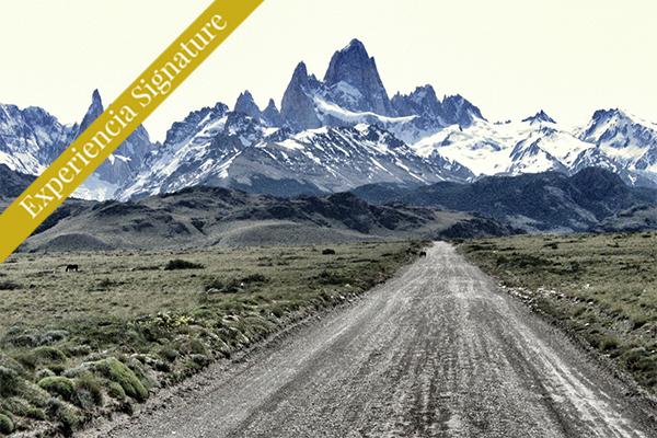 montaña carretera via chalten