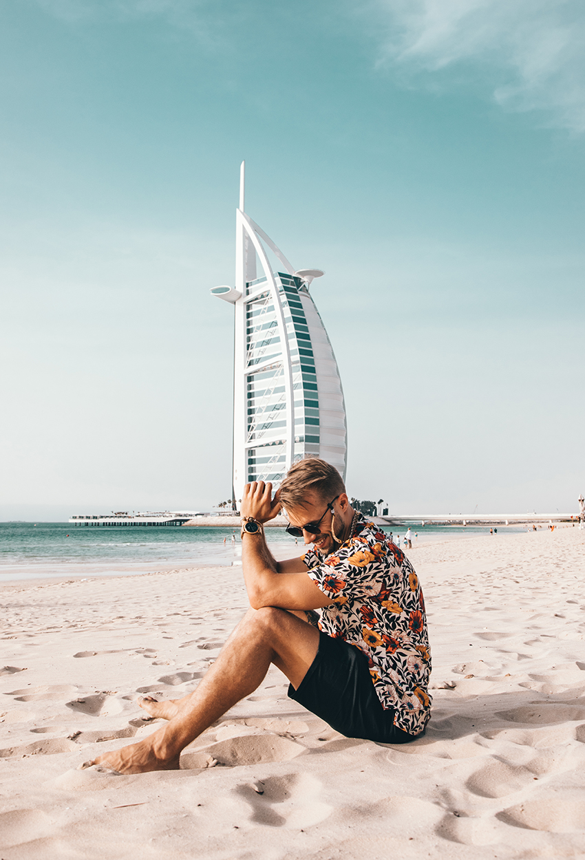 Dubái - Burj Al Arab View Patrick