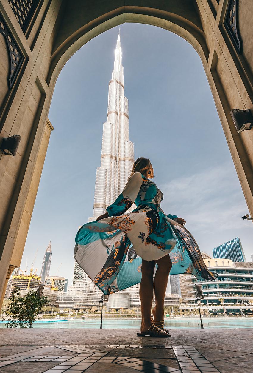 Dubái - Burj Khalifa Gaby Frame