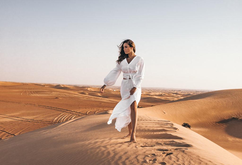paseo por el desierto en Dubái