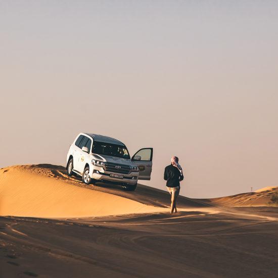 Dubái - Paseo por el desierto
