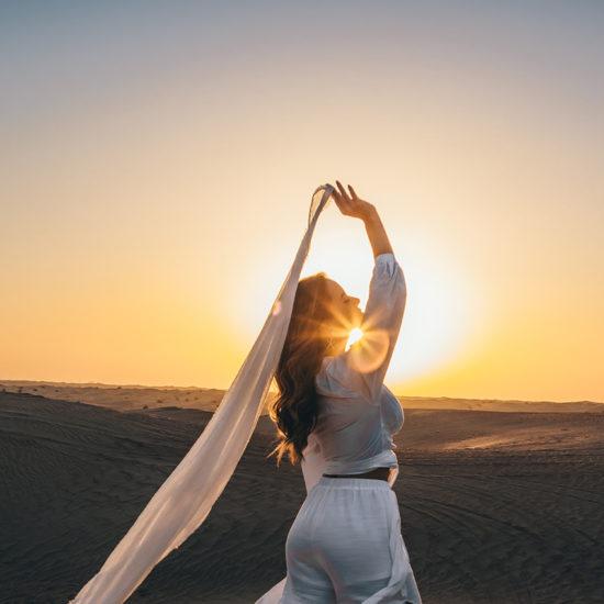 Dubái - Desierto telas