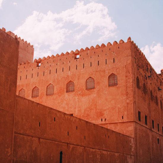 Jabrin Castle en Omán