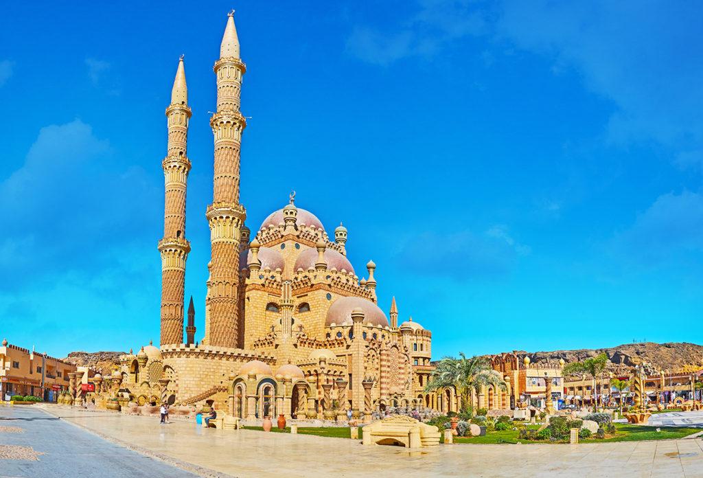 El estilo arquitectónico otomano en Sharm El Sheikh, Egipto