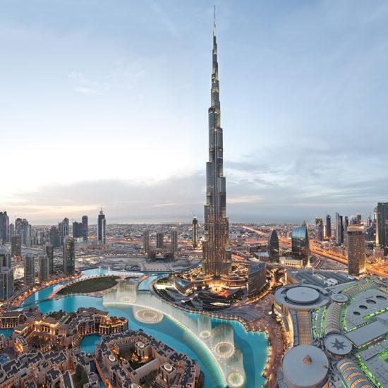 Burj Khalifa (Atardecer) Panorama