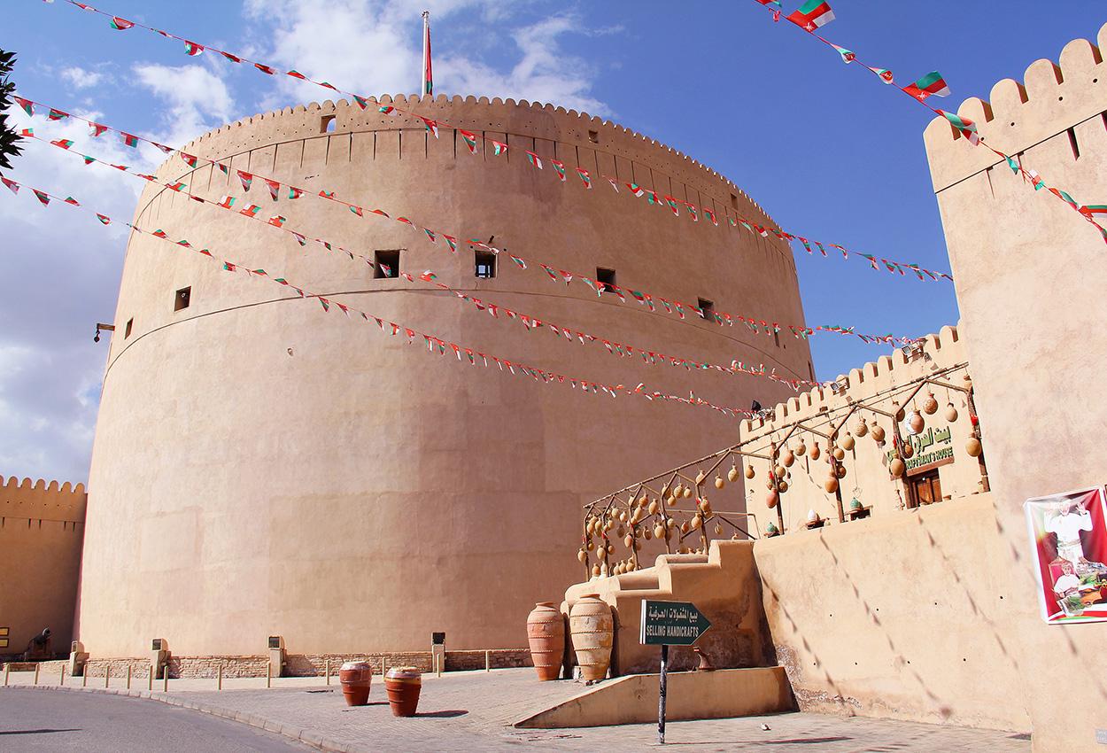 nizwa fortaleza en oman