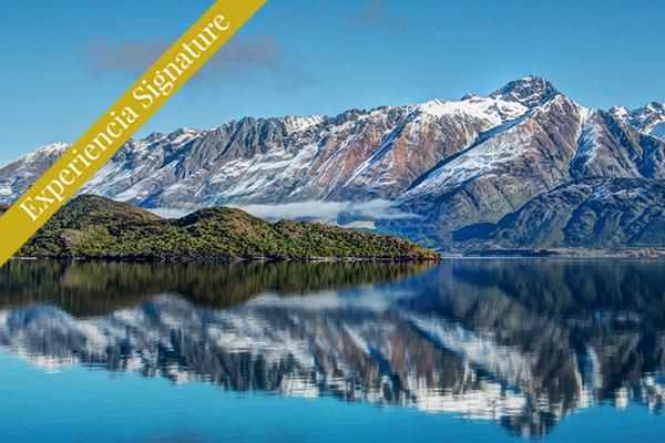 vista hacia Camino a Glenorchy Nueva Zelanda