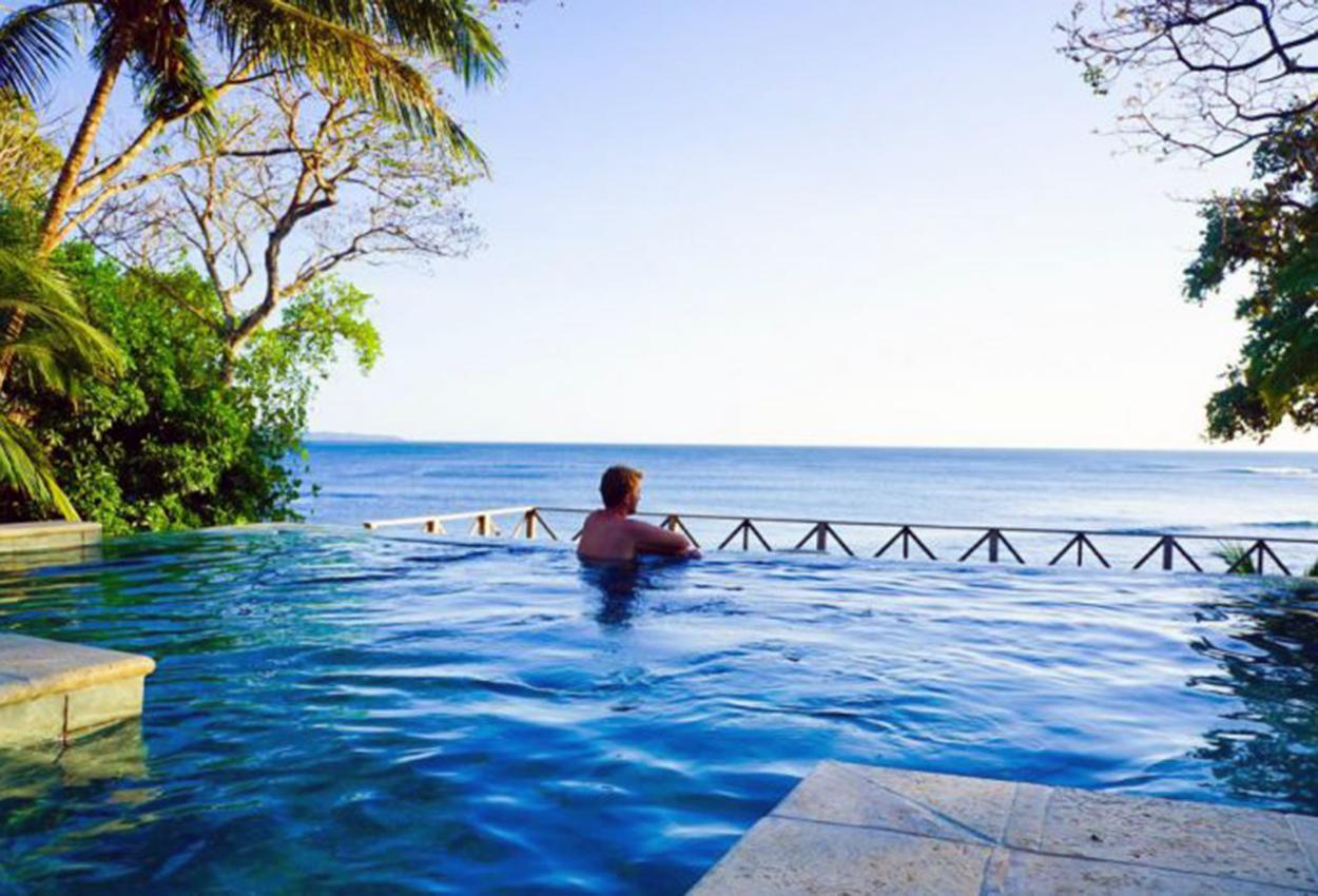 Hotel Santa Catalina piscina