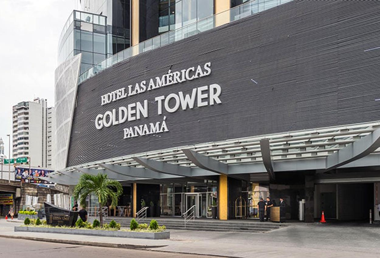 Hotel las americas golden tower Entrada