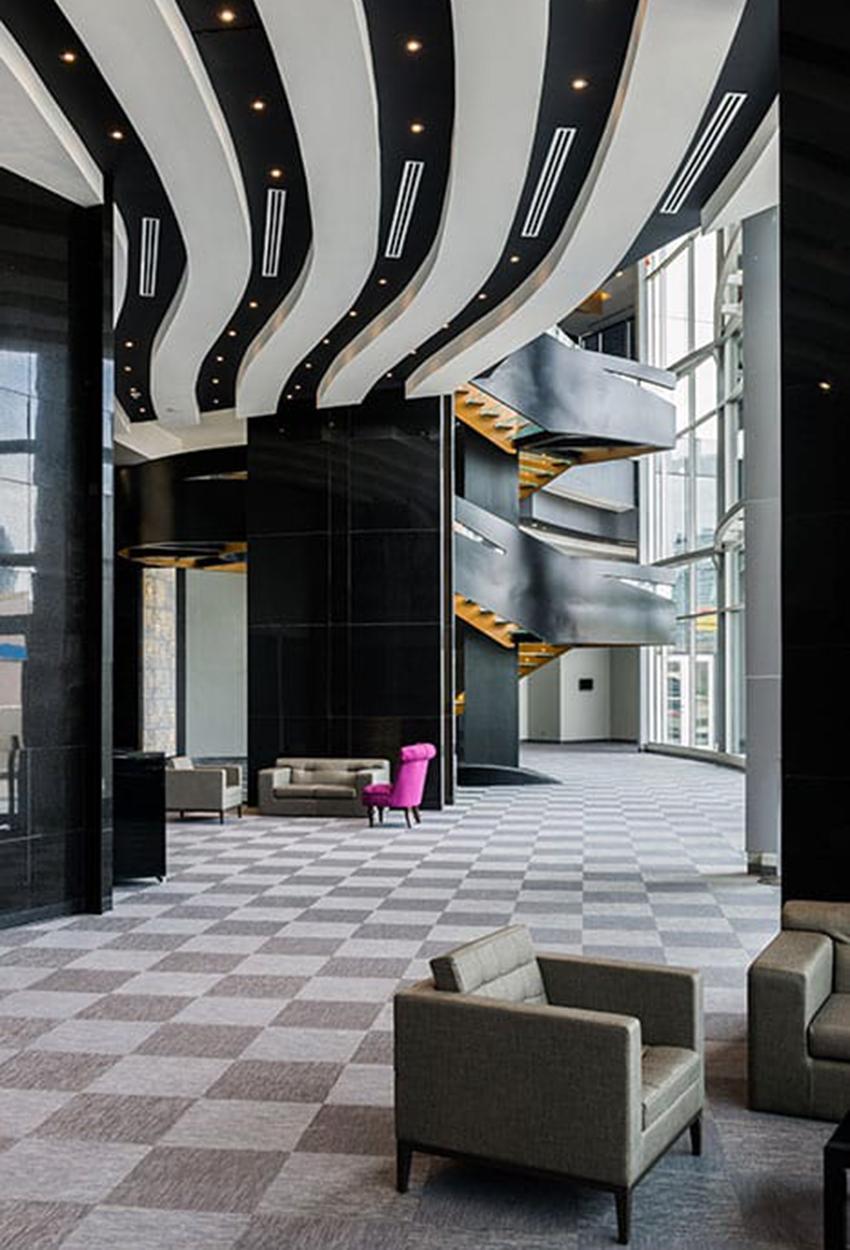Hotel las americas golden tower Recepcion