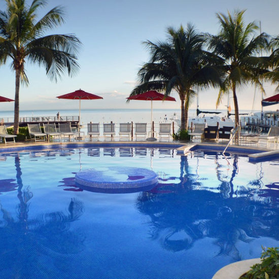 cancún bay resort Piscina