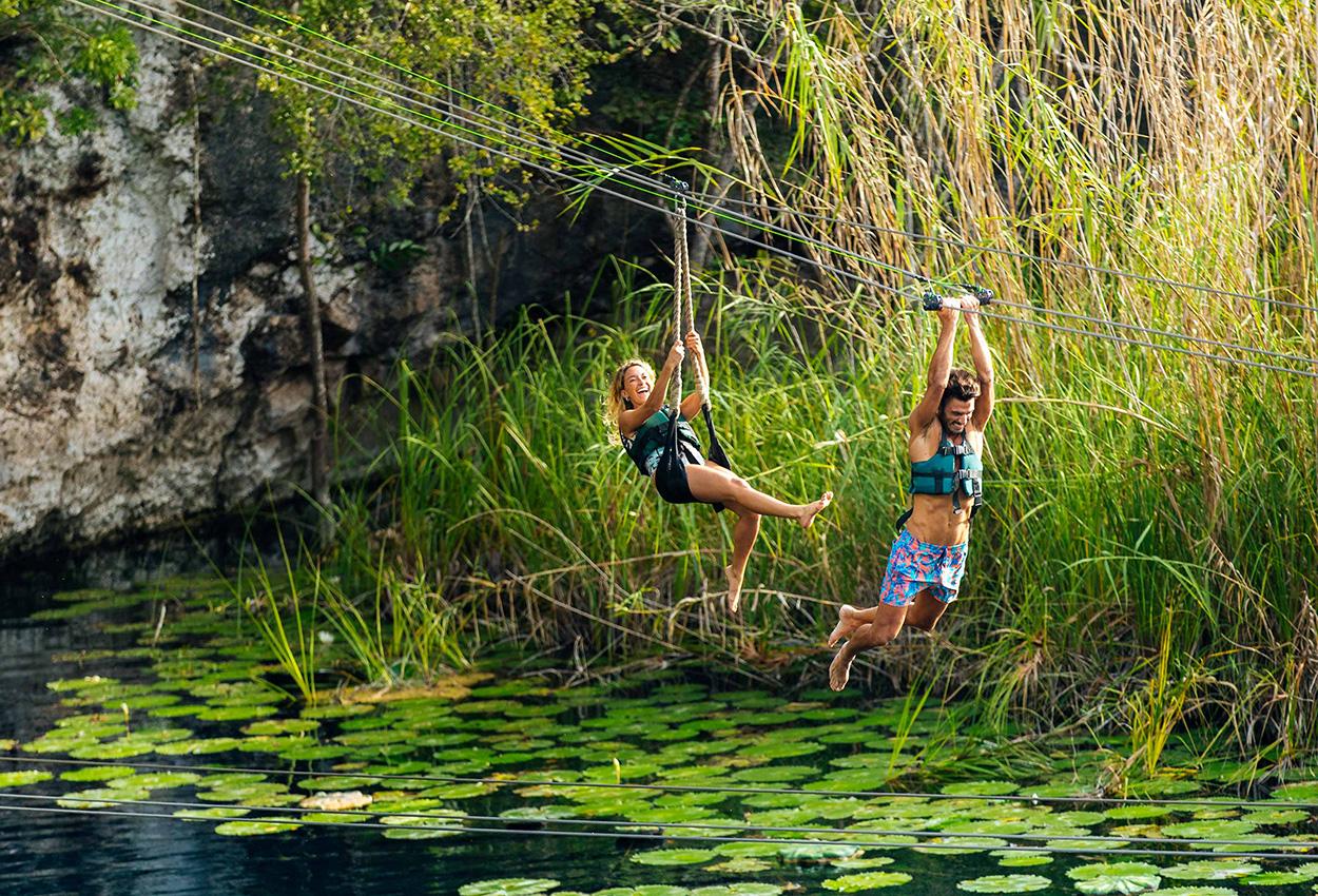 Experencia xenotes cenote iik