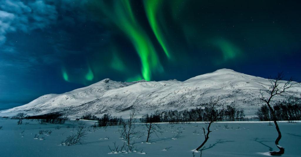 Aurora Boreal Luces de Tromso Noruega