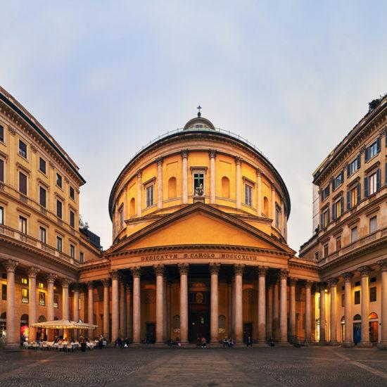 Iglesia de San Carlo al Corso Milán Italia