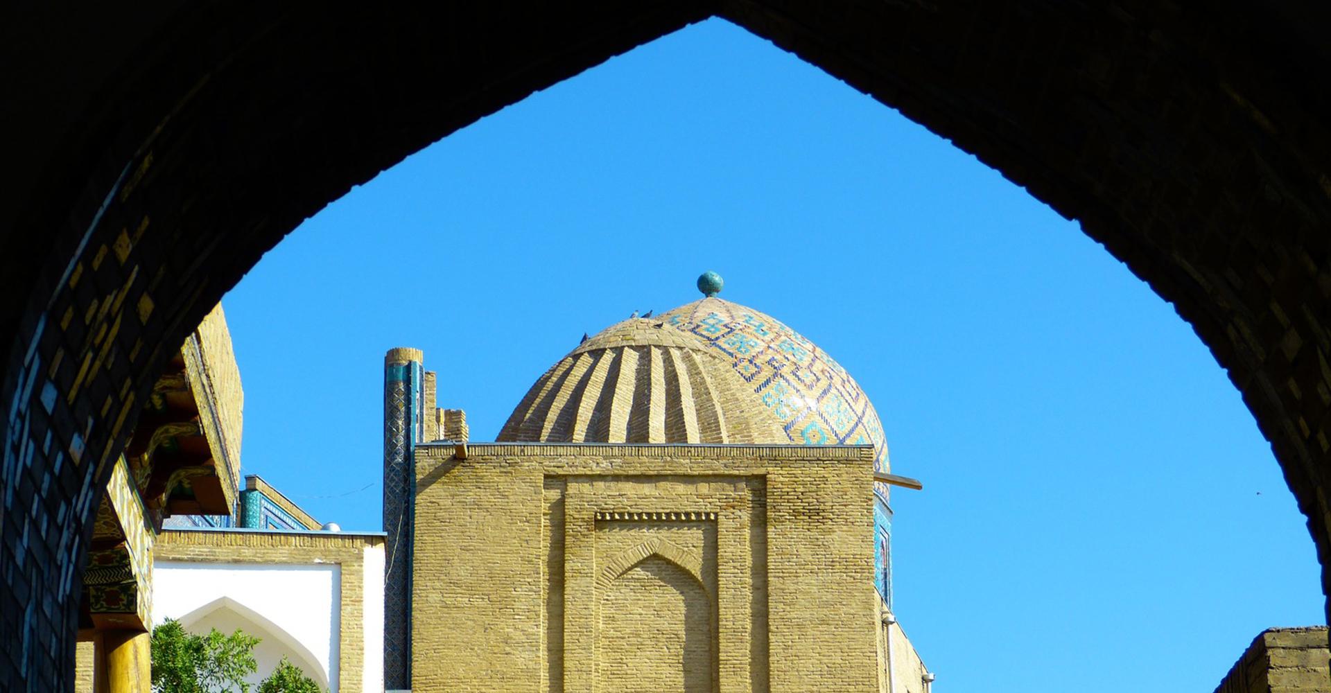 Iglesia en Uzbekistan