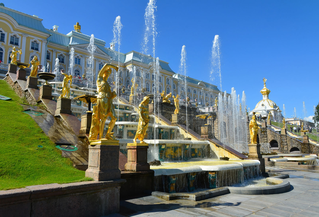 Palacio de Peterhof Rusia