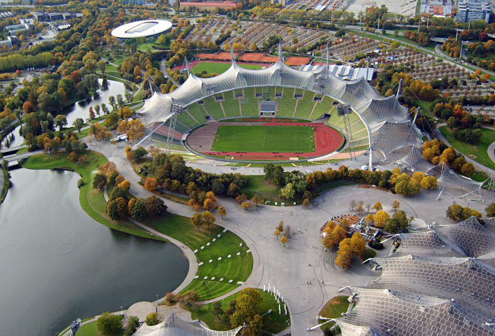 Parque Olímpico Munich Alemania