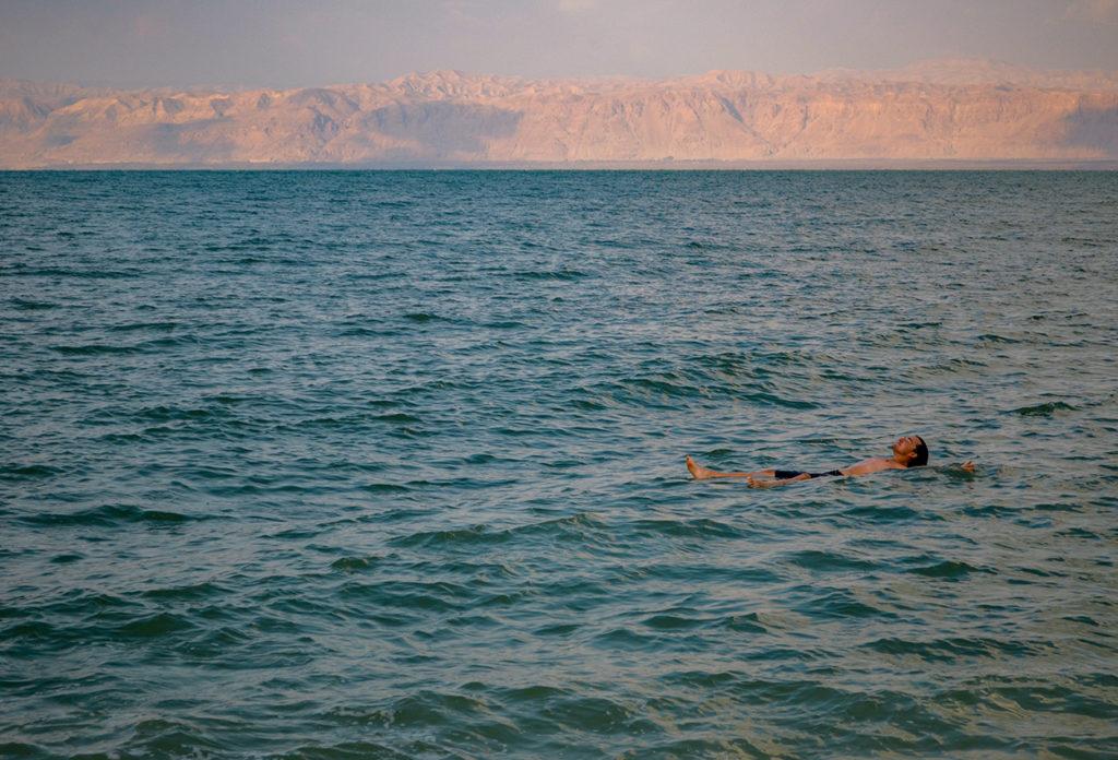Playa del Mar Muerto Jordania