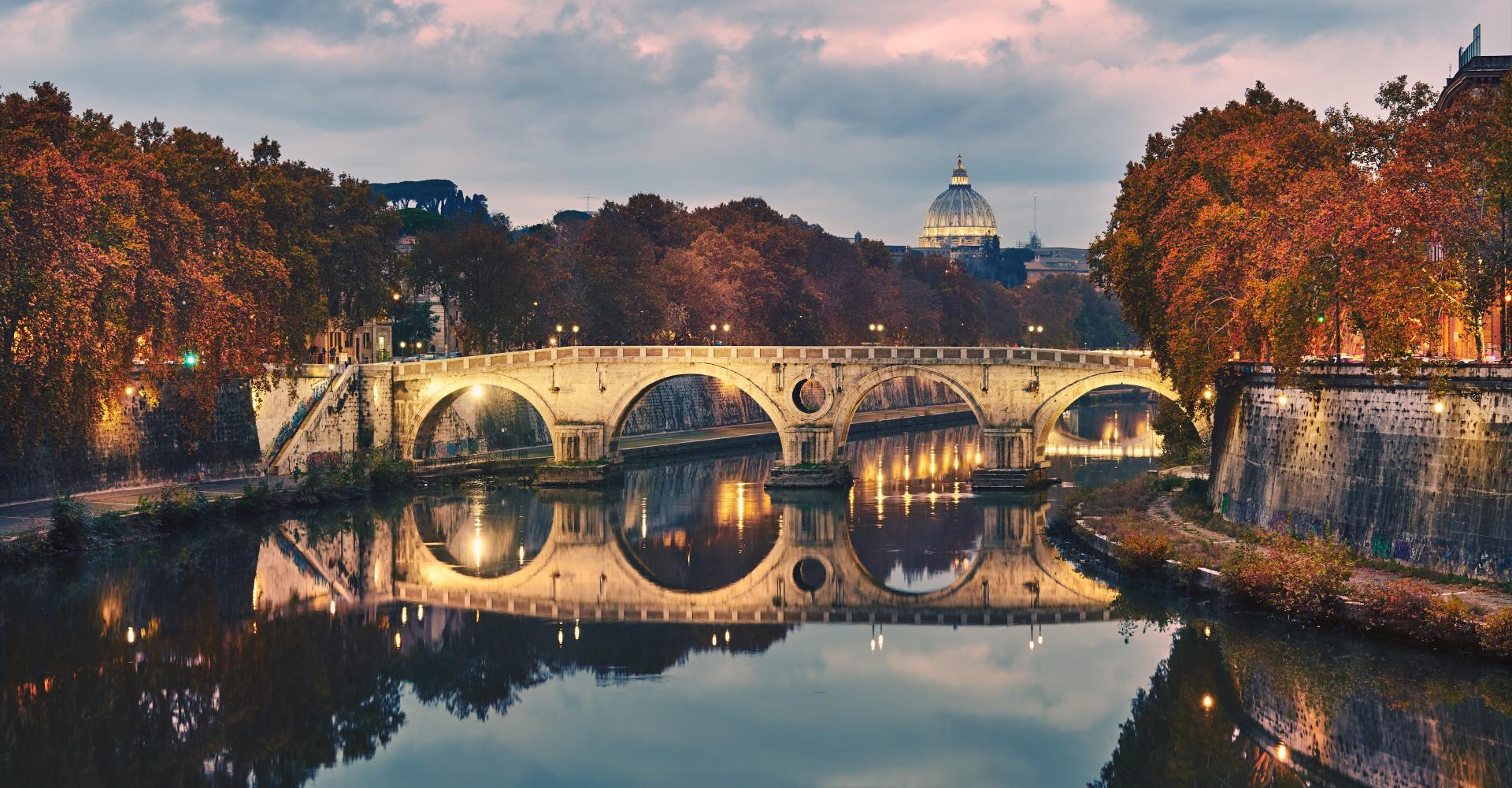 Ponte Sisto Roma Italia