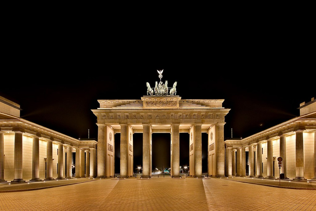 Puerta de Brandemburgo Berlin Alemania