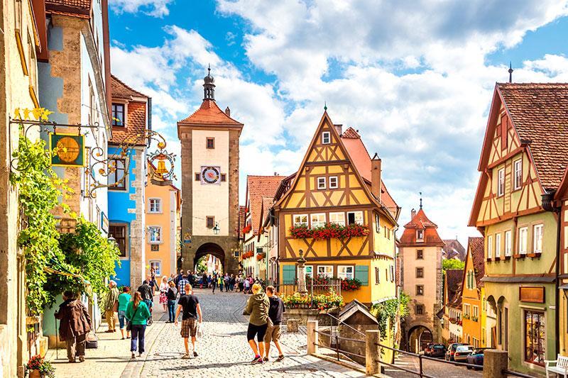 Rothenburg Ob Der Tauber Alemania
