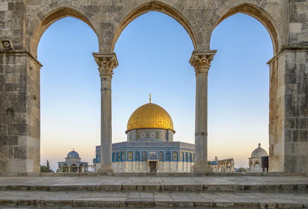La Cúpula de la Roca en Jerusalén