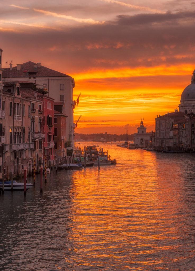 Venecia Atardecer Italia