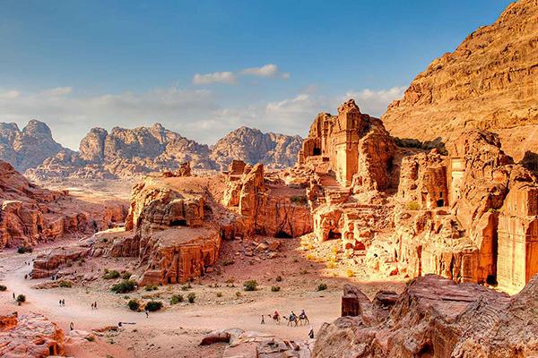 Vista de Petra Desierto Jordania ASIVIAJO