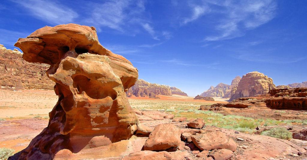 Wadi Rum Desierto Jordania Ammán