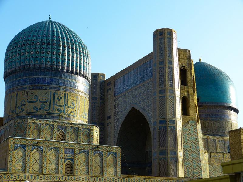 Catedral lugar de culto Samarcanda Uzbekistan