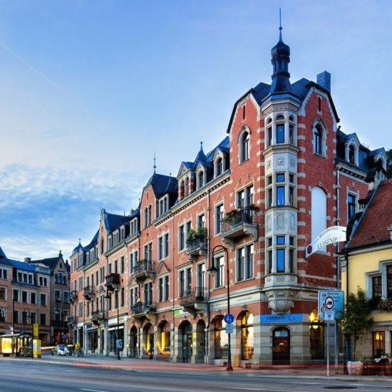 ciudad de dresde en Alemania