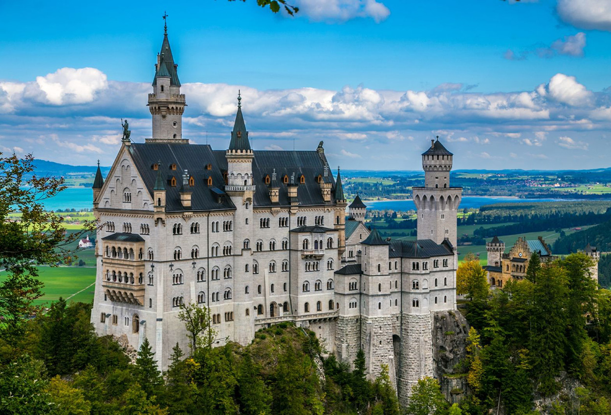Castillo Neu Schwanstein Alemania