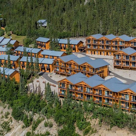 Denali Bluffs Hotel Alaska Vista Exterior ASI
